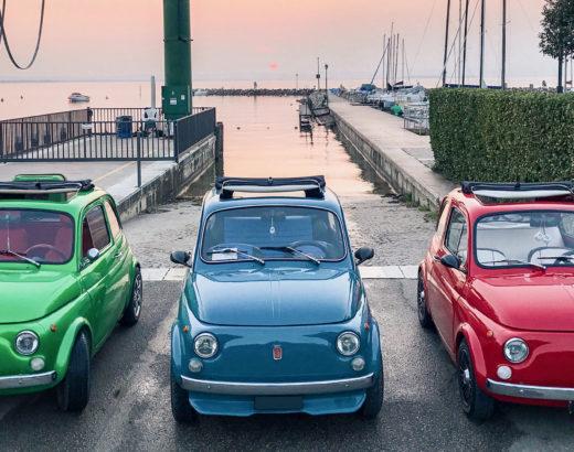 Giro del Lago di Garda in Fiat 500