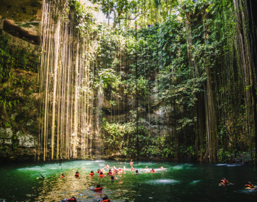 Ik kil, il cenote vicino a Chichén Itzá