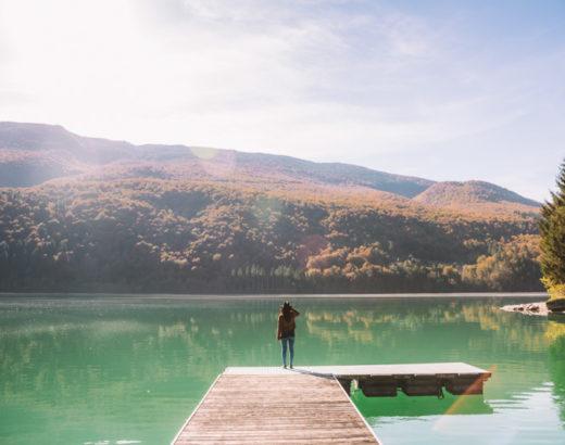 Lago di Barcis e dintorni, uno specchio d'acqua turchese