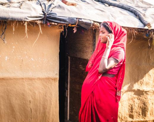 Noi, le campagne del Punjab ed un villaggio indiano fermo nel tempo