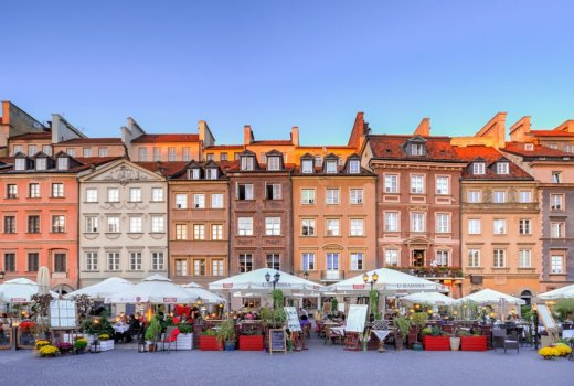 Un weekend invernale a Varsavia