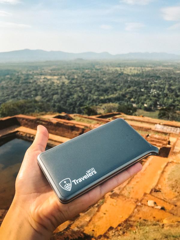 dispositivo wifi portatile per estero