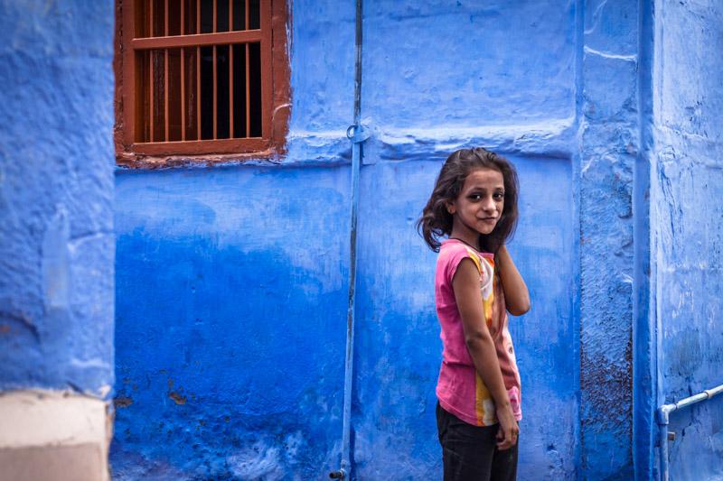 jodhpur città blu india